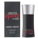 Free sample of Armani code sport