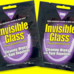 Free sample of invisible glass cleaning wipes