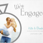Mixbook 5×7 Custom Engagement Announcement Card Review