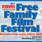 Stop By Rave Cinemas for Free Family Films this Summer