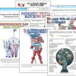 4th of July Party Games Packet Review/Giveaway