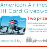 American Airlines Gift Card Giveaway