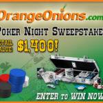OrangeOnions.com Poker Night Sweepstakes