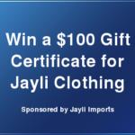 Jayli Clothing Sweepstakes