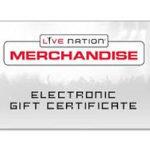 Register to get a $15 Live Nation Cash Credit for Free