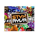 Register for 6 Free Styx Ryvr Skateboard Stickers