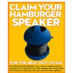 Register with Skoal & Get a Free Hamburger Speaker