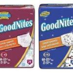 Grab a free sample of Huggies Goodnites Underwear