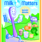 FREE Milk Matters with Buddy Brush Coloring Book
