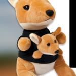 Free Stuffed Kangaroo Toy