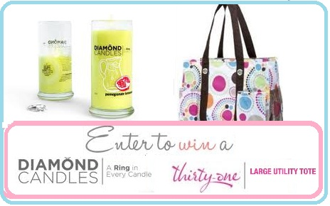 Thirty One Gifts/Diamond Candle Giveaway - Life With Kathy