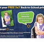 Free 5×7 Back to School Print at Walmart