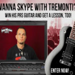 Win a PRS Guitar and Lesson with Mark Tremonti