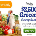 Win $2,500 for Groceries