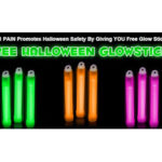 Visit a 411 Pain Store for Free Halloween Glow Sticks