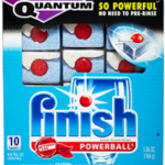 Free Finish Quantum Dishwashing Sample Pack