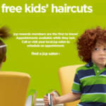 Free Kids Haircuts at JCPenney Every Sunday