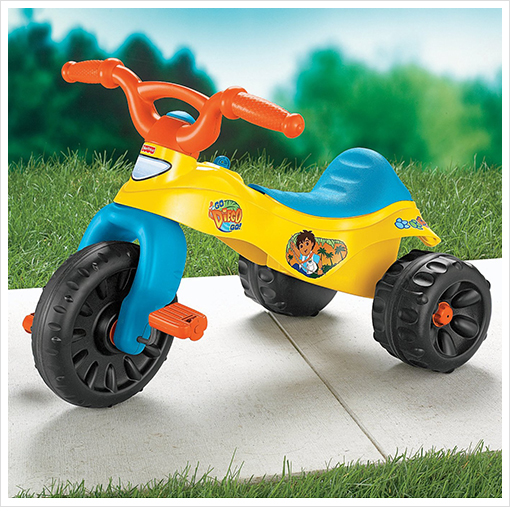 Fisher Price Go, Diego, Go! Tough Trike with Easy Grip Handle Bars & Comfort-Ride Seat! | Life ...