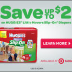 $2 Off Coupon For Huggies Little Movers Slip on Diapers