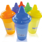 Nuby No Spill Gripper Cups Giveaway