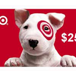 $25 Target Gift Card Sweepstakes