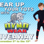 """Gear Up Your Tots with DYNOWEAR"" Giveaway"