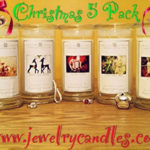 Jewelry Candles Christmas 5 Pack Giveaway