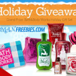 Bath & Body Works Holiday Gift Set Giveaway