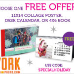 York Photo-Receive One Free Personalized Offer