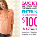 Alloy Lucky 13 Giveaway