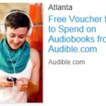 Free $10 Audible Audiobook Voucher