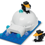 Free LEGO Igloo and Penguins Mini Model Build at LEGO Stores