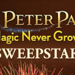 Peter Pan Magic Never Grows Up Sweepstakes