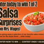 Mrs Wages Salsa Giveaway