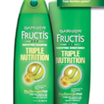 Free Sample Of Garnier Fructis Triple Nutrition Shampoo & Conditioner
