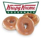 Free Dozen Original Glaze Krispy Kreme Doghnuts
