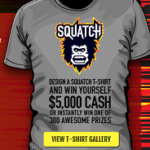 Jack Link's Beef Jerky $5,000 Squatch This T-Shirt Sweepstakes