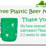 Free St. Patrick's Day Beer Mug