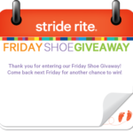 Stride Rite Shoe Giveaway