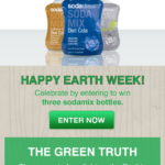 SodaStream Earth Day-Ly Giveaway