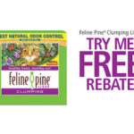 Feline Pine Clumping Litter-Free With Mail in Rebate
