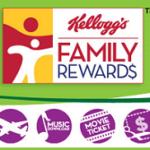 25 Free Kellogg's Family Reward Points