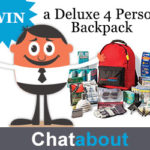 Ready America Grab 'N Go Deluxe 4 Person Backpack Sweepstakes