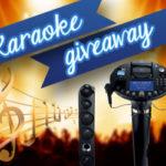 Win a  Singing Karaoke Machine