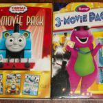 Thomas & Friends and Barney Movies 3 Packs Review