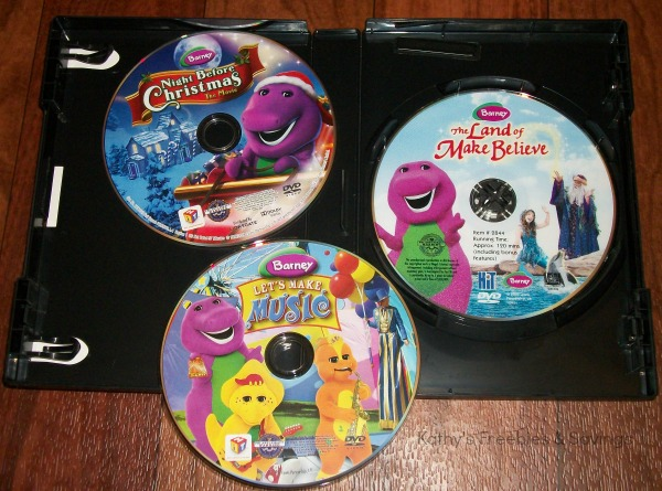 barney comes with the land of make believe lets make music and night before christmas of course the very first movie my daughters wanted to watch was the - Barney Christmas Movie