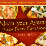 Tandoor Chef! WIN $250 Plus Enough Pizza for a Naan Pizza Party
