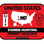 Free 4WD Zombie Hunting Decal