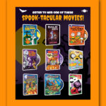 Warner Bros. Spook-Tacular Movie GIVEAWAY!