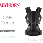 BabyBjorn One Carrier Giveaway